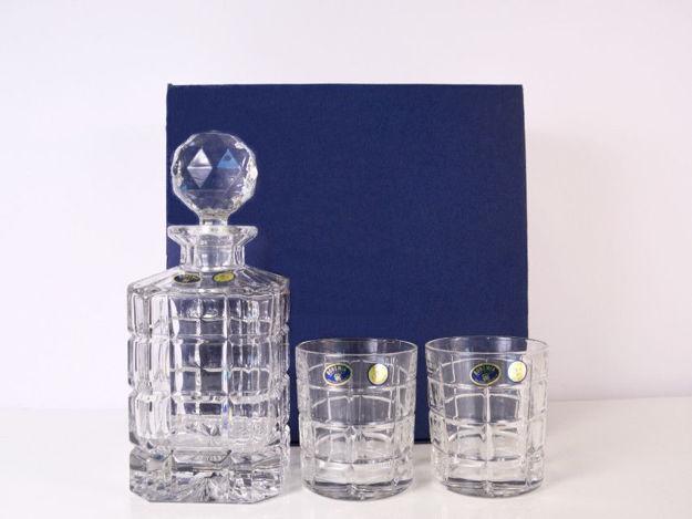 Slika Set 6 čaša i boca za Whiskey kristalin