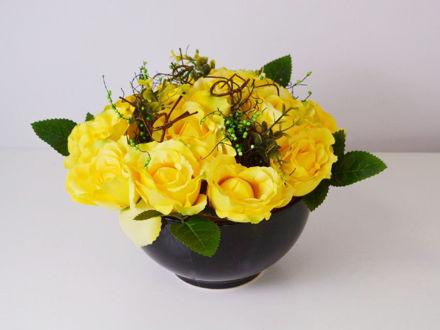 Slika Aranžman ruža 30 cm x 20 cm