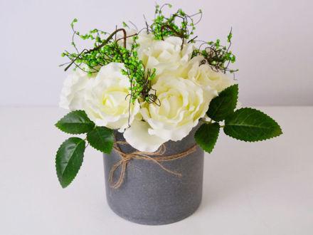Slika Aranžman ruža 25 cm x 20 cm