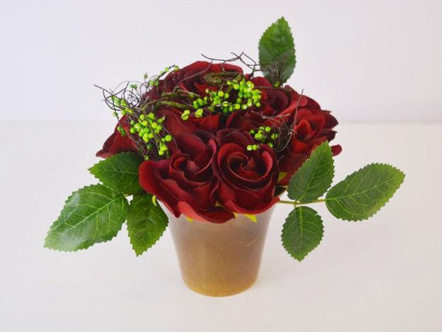 Slika Aranžman ruža 20 cm x 15 cm