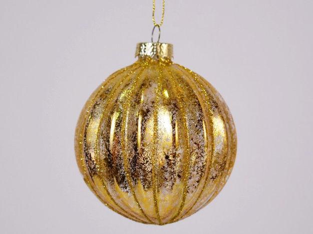 Slika Božićne kuglice S/6 staklo 8 cm