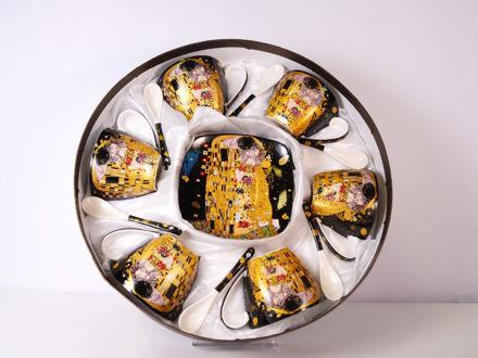 Slika Šalice s tanjurićem S/6 porculan 250 ml