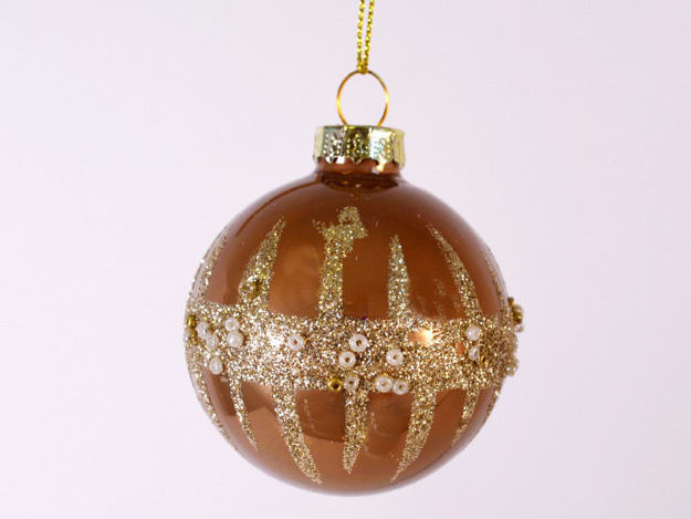 Slika Božićne kuglice S/6 staklo 6 cm