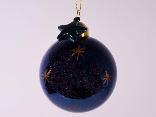 Slika Božićne kuglice S/4 staklo 8 cm