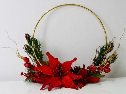 Slika Božićni vijenac 20x23 cm