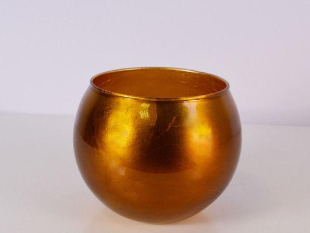 Slika Vaza staklo 16 x 13.5 cm